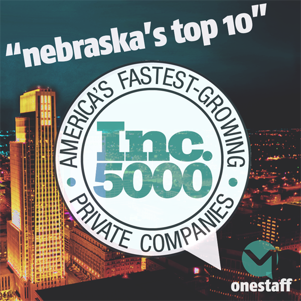 PROUDLY ONE OF THE NATION'S FASTEST-GROWING PRIVATE COMPANIES, HUMBLY HEADQUARTERED RIGHT HERE IN OMAHA.